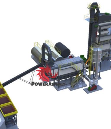 120 ton Batch asphalt plant