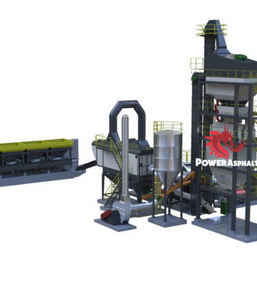 60 ton batch asphalt plant