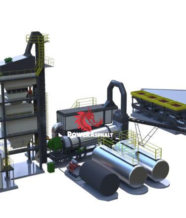 240 ton batch asphalt plant